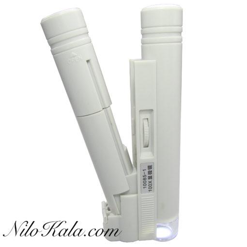 میکروسکوپ جیبی چراغدار 100 برابر