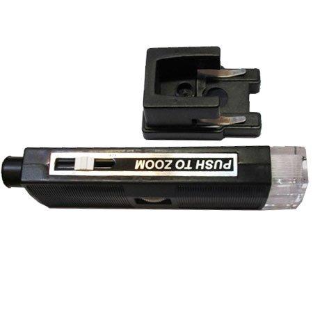 نمای ضخامت و پایه میکروسکوپ جیبی زومیک چراغدار 60-80-100 برابر