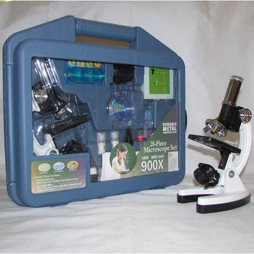 نمایی دیگر از بسته بندی میکروسکوپ بیولوژی دانش آموزی 900x