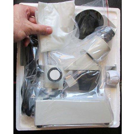 متعلقات بسته بندی لوپ 60 برابر دوچشمی - استریو میکروسکوپ 60 برابر