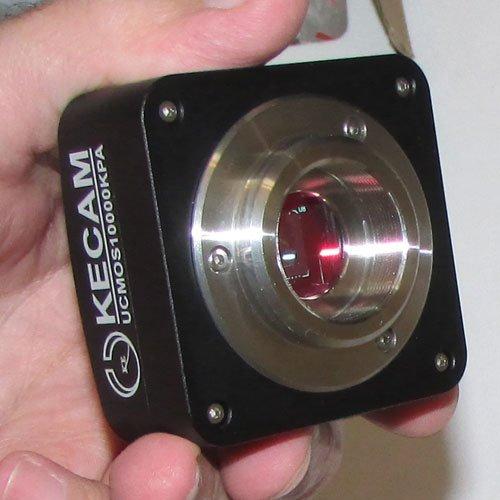 دریچه اتصال دوربین 10 مگاپیکسلی مخصوص انواع میکروسکوپ و استریومیکروسکوپ Industrial Digital Camera