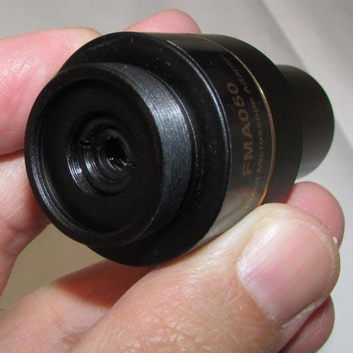 ابعاد آداپتور اصلی دوربین 14 مگاپیکسلی مخصوص انواع میکروسکوپ و استریومیکروسکوپ Industrial Digital Camera