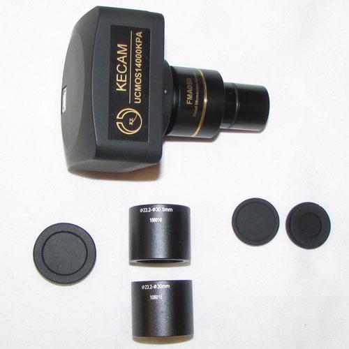 متعلقات دوربین 14 مگاپیکسلی مخصوص انواع میکروسکوپ و استریومیکروسکوپ Industrial Digital Camera