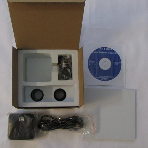 پکیج دوربین 14 مگاپیکسلی مخصوص انواع میکروسکوپ و استریومیکروسکوپ Industrial Digital Camera
