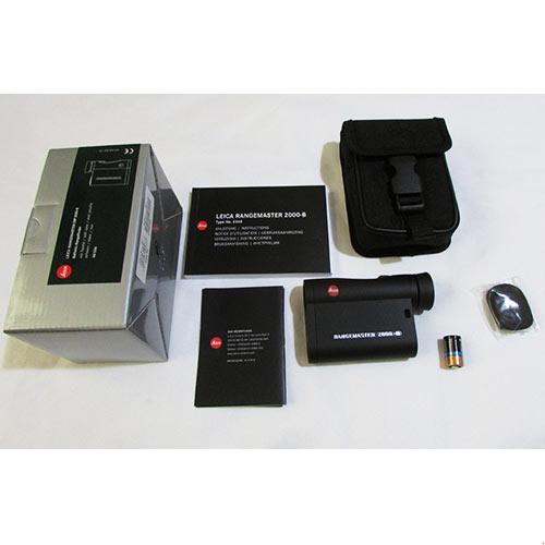 متعلقات پکیج فاصله یاب لیزری لایکا مدل Rangemaster 2000-B