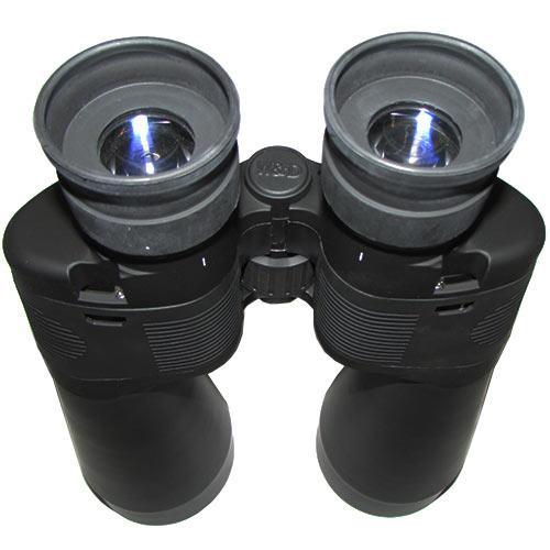 مشاهده نمای پشتی و محل اتصال بندها به دوربین شکاری breaker 15x80