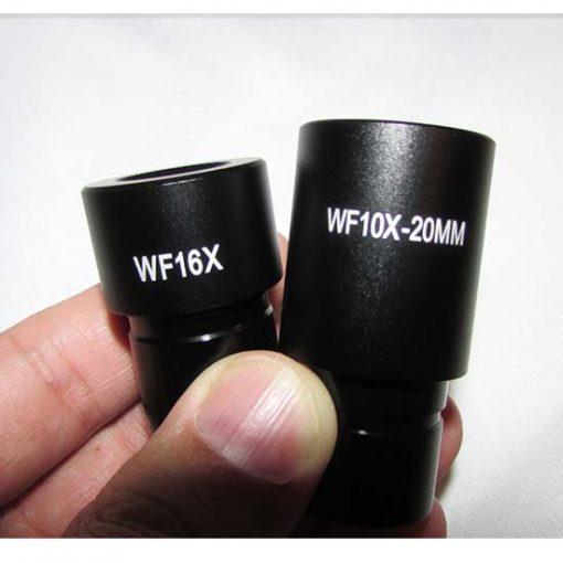 عدسی های چشمی 10x و 16x میکروسکوپ 1600 برابر بیولوژی دو چشمی مدل Ke-20