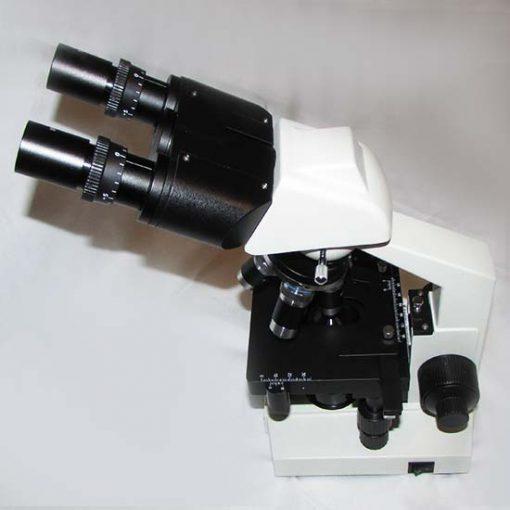نمایی از بالای میکروسکوپ 1600 برابر بیولوژی دو چشمی مدل Ke-20
