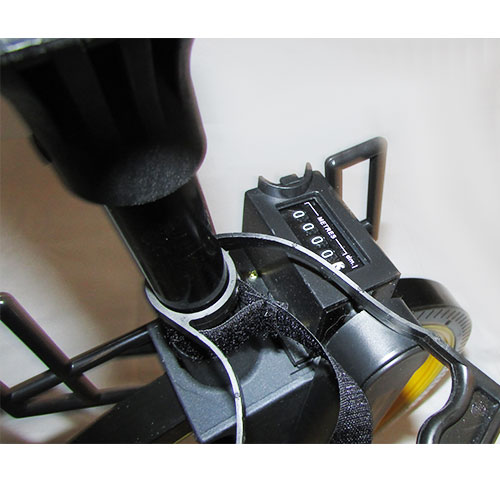 دسته و کنتور شمارنده متر چرخدار مکانیکی