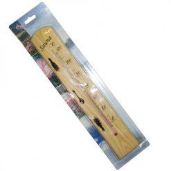 دماسنج سونا با بدنه چوبی و رنج دمای 0 تا 120 درجه سانتیگراد