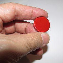 آهن ربای گرد - آهنربای سکه ای با قطر 2.5 سانتیمتر