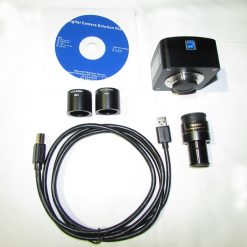 متعلقات 5MP USB3 Microscope Camera کابل - رابط ها - بدنه و نرم افزار