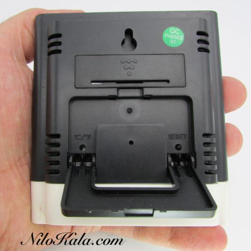 نمای بخش پشت دماسنج و رطوبت سنج دیجیتال مدل CX-318